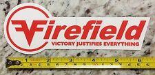 Firefield Sticker Decal Optics Sights Rifle Scopes Firearms Hunting Deer