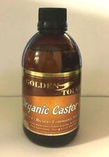 100% Pure Organic Castor Oil FOR HAIR & EYEBROW GROWTH 250ml