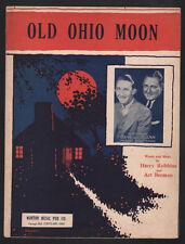 Old Ohio Moon 1931 Gene and Glenn Sheet Music