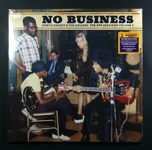 Curtis Knight & The Squires No Business (The Ppx Sessions Vl2) Eu Vinyle (Brown)
