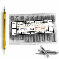 216pcs Stainless Steel Watch Band Spring Bars Strap Link Pins 8-25mm Repair Kits