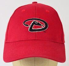 Arizona Diamondbacks MLB Red Baseball Hat Cap Adjustable