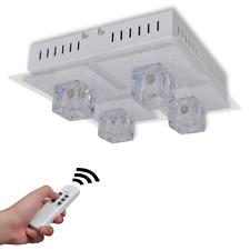 Lampada da Soffitto LED RGB cambia colore telecomando Paralume Illuminazione Pendente