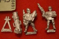 Games Workshop Warhammer 40k Praetorian Mortar Team Imperial Guards New 1990s GW