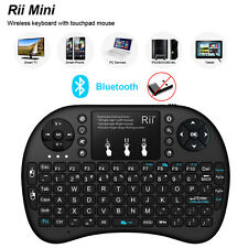 Rii mini i8+ Bluetooth backlit Wireless Keyboard for BT Smart TV PC Fire Stick