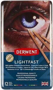 Derwent Lightfast 12 Tin
