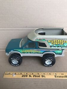 "Rare Vintage Nylint Ford  ""WILDERNESS CAMPER"" Truck Green"