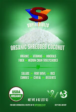 Organic Shredded Coconut 8 oz FREE SHIPPING Fast Delivery