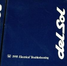 1995 HONDA CIVIC DEL SOL Electrical Wiring Diagrams Troubleshooting Manual OEM x