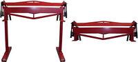 "Industrial 36"" x 12 Gauge Sheet Metal Bending Brake Bender Bench Top or Stand"