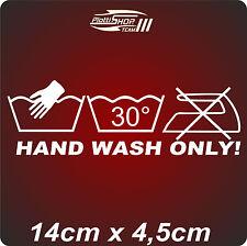 HAND WASH ONLY,Style,Aufkleber,Sticker,Spielkarte,w,Sticker Bomb,Shocker,neu.M5
