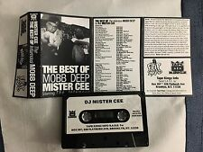 DJ Mister Cee The Best of Mobb Deep Tape Kingz Classic 90s NYC Mixtape Cassette