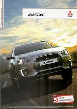 Prospekt / Brochure Mitsubishi ASX 06/2014