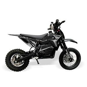 Electric 48V 1200W Kids Dirt Bike – Grey