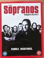 The Sopranos Temporada 2 DVD Caja ~ HBO Culto Americano Crime Mob Serie de TV GB