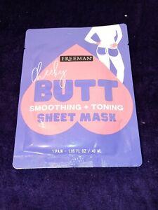 Freeman Butt Cheeks Smoothing Tonning Sheet Mask 1 Pair