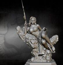 1/24 Resin Figure Model Kit Beauty Goddess Queen Soldier unpainted unassembled