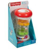 Fisher-Price DRG12 Mattel Krabbelspaß-Spielturm Motorikspielzeug für Kleinkinder