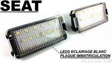 LEDS LED ECLAIRAGE BLANC XENON PLAQUE IMMATRICULATION XENON SEAT LEON 1M 99-05
