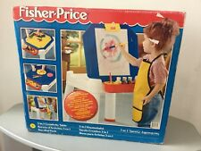 1995# RARE VINTAGE FISHER PRICE 3-IN-1 CREATIVITY TABLE #NIB PLAYSET 72860