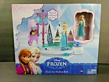 Disney Frozen Elsas Ice Skating Rink Princess Figures Toy Girls Age 3 and Up New