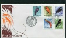 FIRST DAY COVER.... Birds on Stamps.  PNG  1993  bird set of 5
