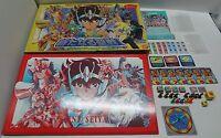 Saint Seiya DX4 Arata Naru Seisen Game BOARD GAME Japan JUNK