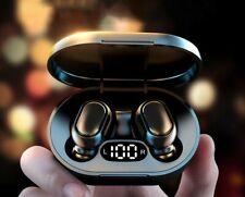 Bluetooth 5.0 deep bass earbuds headset waterproof headphones