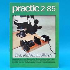 DDR practic 2/1985 Seifenkisten Spielfallschirme Lampenschirme Strickleitern S