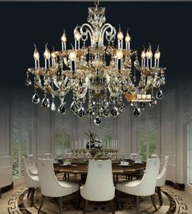 15 bulb modern crystal chandelier wall fixture Ceiling Light Pendant lamp