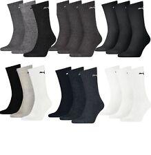 Puma Sport Socken Tennis Strümpfe Unisex im 6er, 9er, 12er oder 18er Pack