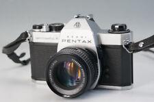 ASAHI PENTAX SPOTMATIC F Film Camera Body SMC TAKUMAR 1:1.8/55 AS-IS F/S 189f02
