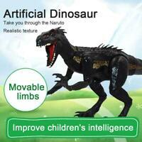 15CM toys jurassic park Black Indoraptor Dinosaur Action Figure O8J4