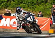 Josh Brookes riding Norton Motorcycles  2017 Isle of Man TT A4 size photo