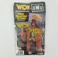 1998 WCW NWO 3D Lenticular Collectible Cards Sting Randy Savage Goldberg NIP