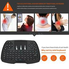 2.4GHz Wireless Keyboard Touchpad Mouse Telecomando per Android TV BOX PC