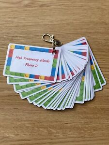 First 100 High Frequency Words - Phase 2 Flashcards  Primary School Key Stages
