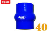 "Silicone Hose Hump Coupler Joiner supercharger  40mm 1.62"" Blue"
