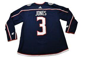 adidas Mens NHL Columbus Blue Jackets Seth Jones Authentic Jersey NWT 50, 52, 56