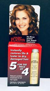 Hask Placenta No-Rinse Instant Hair Repair Treatment - 3.125 fl oz