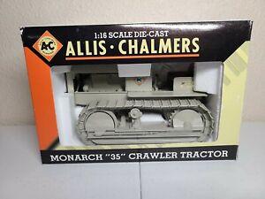 """Allis-Chalmers Monarch """"35"""" Crawler Tractor - SpecCast 1:16 Scale Model #SCT200"""