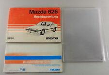 Manual de Instrucciones + Instrucciones Servicio Mazda 626 Tipo GD Stand 1985