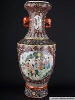 China 20. Jh. Große Bodenvase - A Large Chinese Porcelain Vase Chine Vaso Cinese