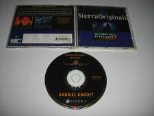 Gabriel Knight - SINS OF THE FATHERS Pc Cd Rom CD Cased - FAST SECURE POST