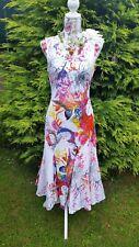 Phool India Vintage 70s Maxi Dress Size 14 Hippy Art