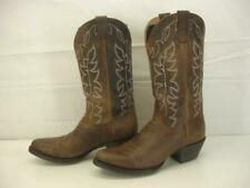 Women's 8 M Shyanne Xero Gravity Mad Dog Performance Boots Brown Leather Western