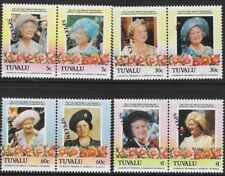 Tuvalu 1985 Queen Mother Scott #311-14, SPECIMEN Pairs Set, CV $12.00 - cw56.89
