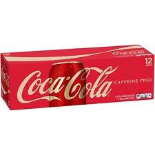 Caffeine Free Coca-Cola, 12 fl oz, 12 Pack