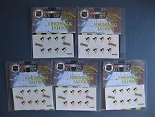 PITTSBURGH PENGUINS FINGERNAIL TATTOOS LOT OF FIVE PACKS NEW IN PACKAGE NHL