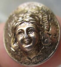 1940 Silver Dime Repousse Pop-Out Push Punch  out  Angel ? Liberty coin